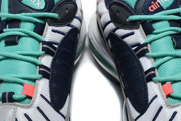 cheap for discount cd96e 8ebce Nike Air Max 98 South Beach Pure Platinum Obsidian 640744 005 Men's Running  Shoes 640744-005b