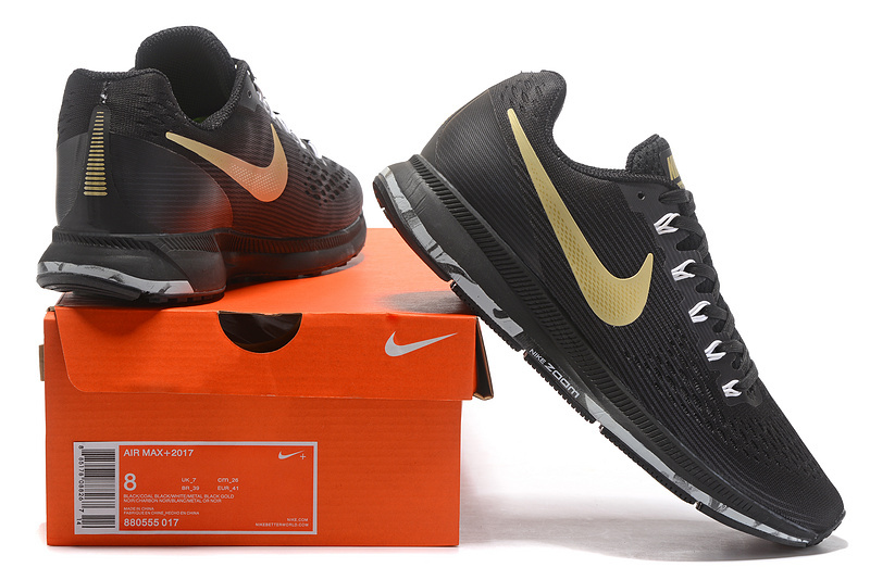 67a691c4be5d Nike Air Zoom Pegasus 34 FlyEase Black Anthracite White Metallic ...