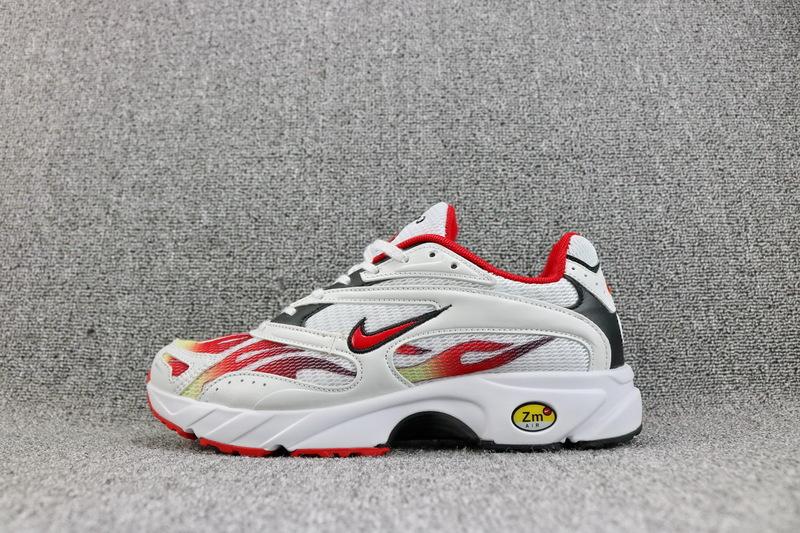 e7ccb845db406 Supreme x Nike Zoom Streak Spectrum Plus White Habanero Red Black AQ1279  100 Women s Men s Casual