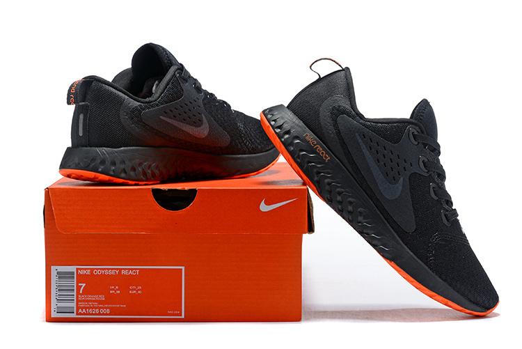 f49cb1c77a0b2 Nike Odyssey React Anthracite Grey Orange AA1626 008 Men s ...
