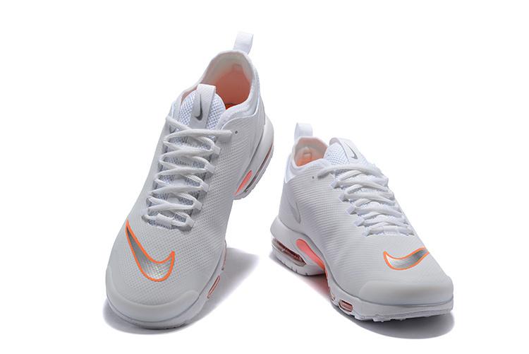 5518236815 Mens Nike Air Max Mercurial TN Orange Black White AQ0242 100 Running Shoes