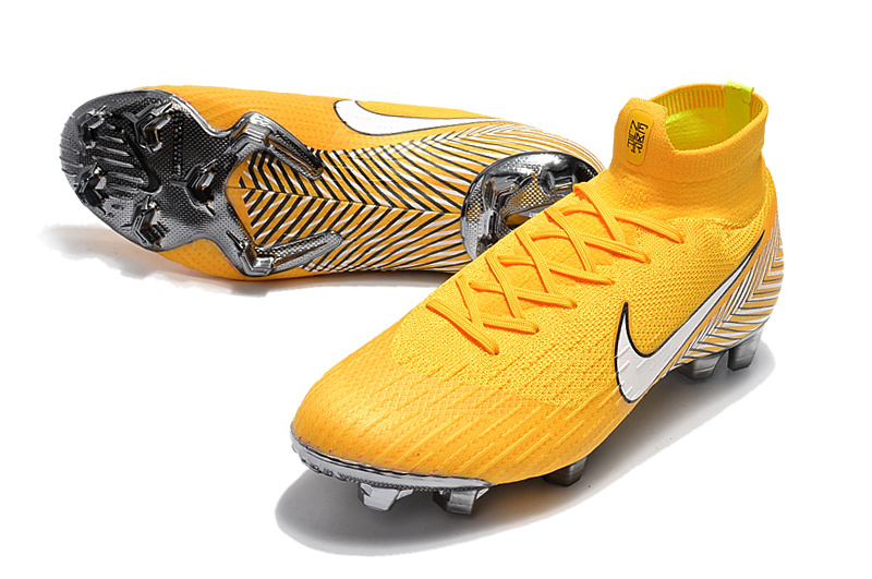 official photos 8aa36 53023 Nike Mercurial Superfly 360 Elite FG Neymar Yellow Amarillo White Black  Men's Soccer Cleat Shoes NIKE-ST003418