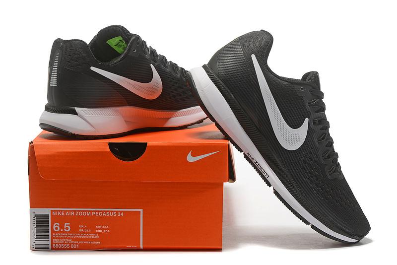 online retailer 2ee7b 18fe3 Nike Air Zoom Pegasus 34 FlyEase Black Dark Grey ...