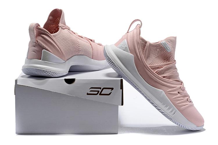 e5b697ae802f Under Armour UA Curry 5 Pink White Men s Basketball Shoes NIKE ...