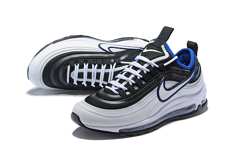 Men's Nike Air Max 97 Ultra 17 SE Black Whtie Blue 924452 024 Casual Shoes Sneakers 924452 024