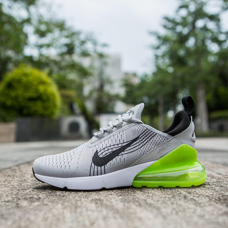 uk availability de29f 10890 Nike Air Max 270 World Cup Wolf Grey Black Green Men's Casual Shoes  NIKE-ST002954