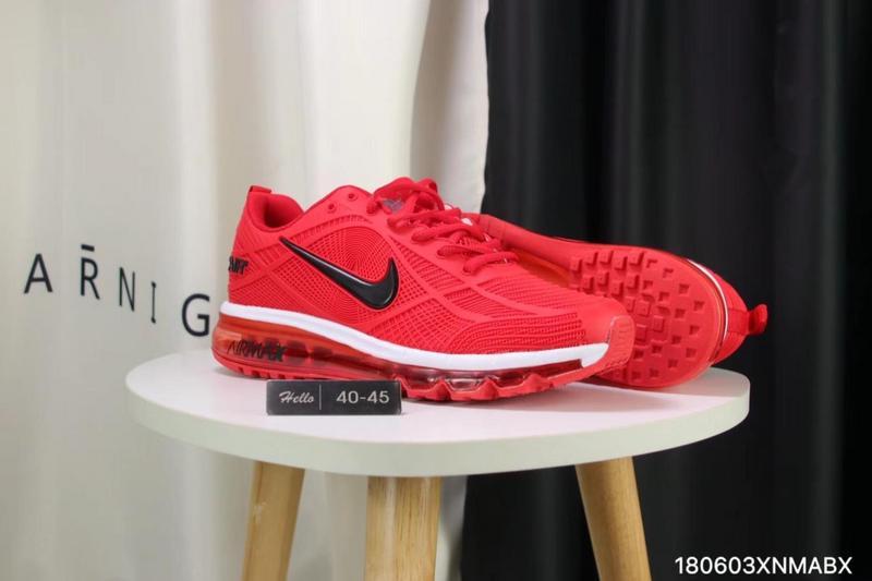 huge selection of f7583 9cc0d Nike Air Max 2019 KPU University Red White Black Men s Running Shoes