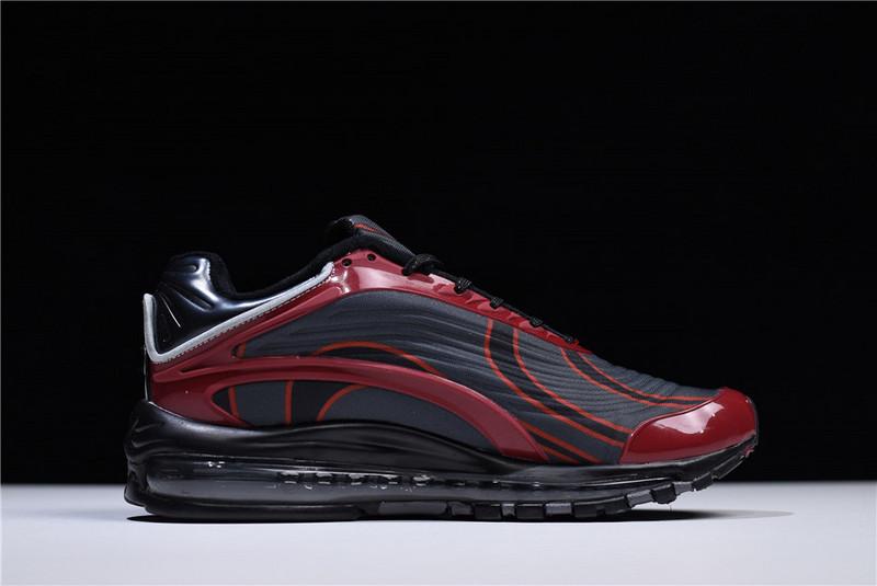 5b265eebec Ventilation Nike Air Max 99 Deluxe TPU Reflective Black Red AJ7831 002  Women's Men's Running Shoes