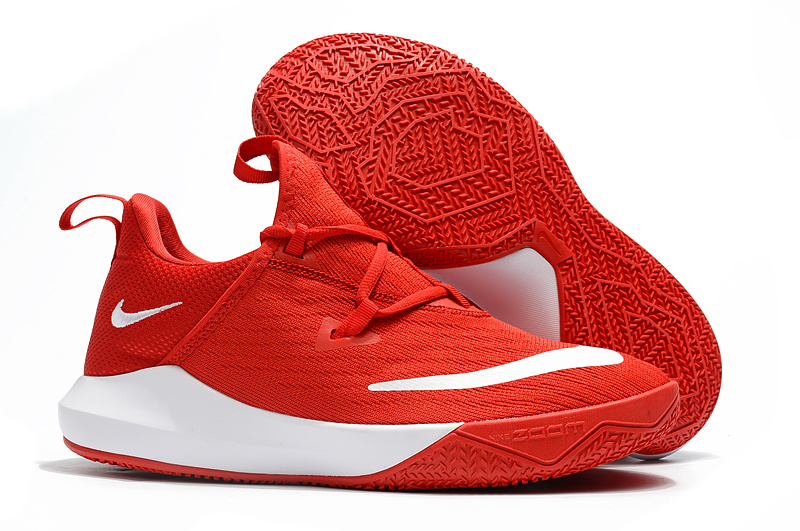 Nike Zoom Shift EP 2 Bright Red White Men's Basketball Shoes NIKE ST002843