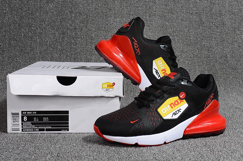 quality design 55d6d c2469 Nike Air Max 270 Kpu Black Red White AH8050 128 Men s ...