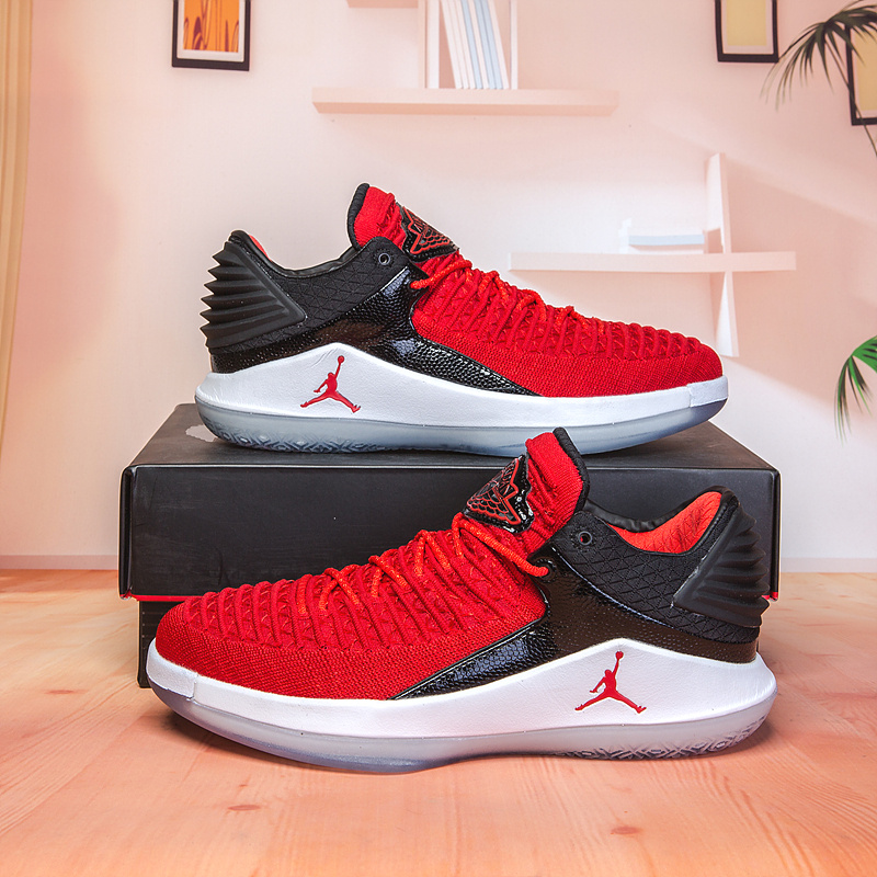 209a374dc91b2b Air Jordan 32 XXXII Low University Red White Black Men s Basketball ...