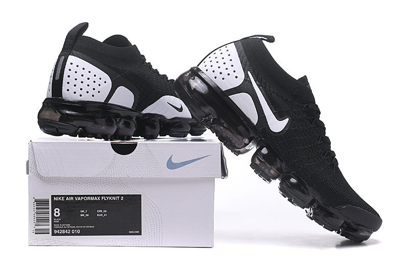 quality design 9a90b 7e1ed Comfortable Nike Air VaporMax Flyknit 2. 0 W Dark Stucco Obsidian Habanero  Red Grey Fog 942842 010 Women's Men's Running Shoes 942842-010