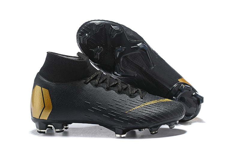 3554300842a1 Nike Mercurial Superfly 360 Elite FG Black Metal Gold Men s Soccer ...