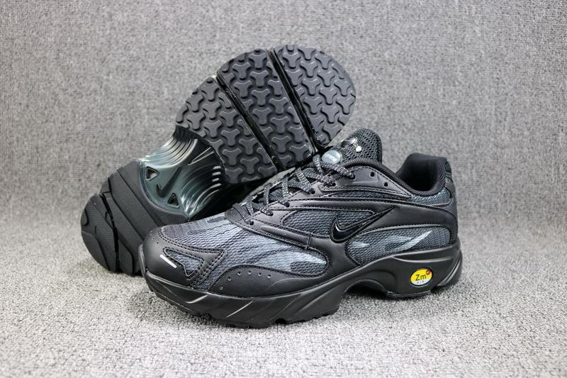 4d07402838ee3 Radient Supreme x Nike Zoom Streak Spectrum Plus Black AQ1279 001 Women s  Men s Casual Shoes AQ1279-001