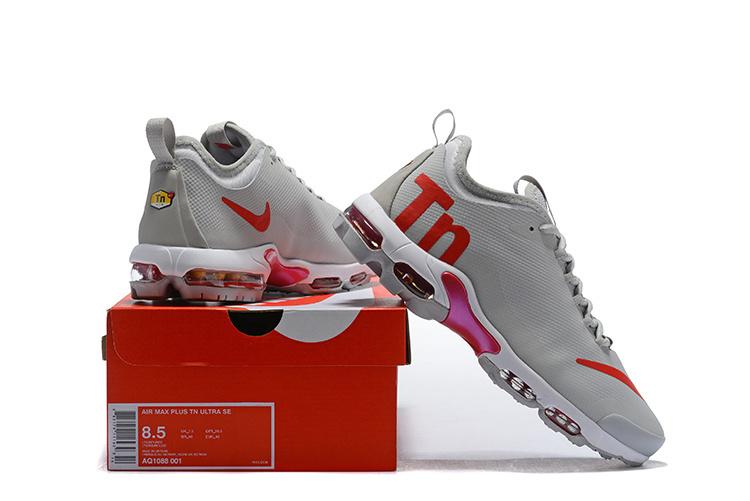 innovative design edeb8 278c4 Mens Nike Air Max Plus Mercurial TN Wolf Gey Red AQ1088 001 Running Shoes  AQ1088-001