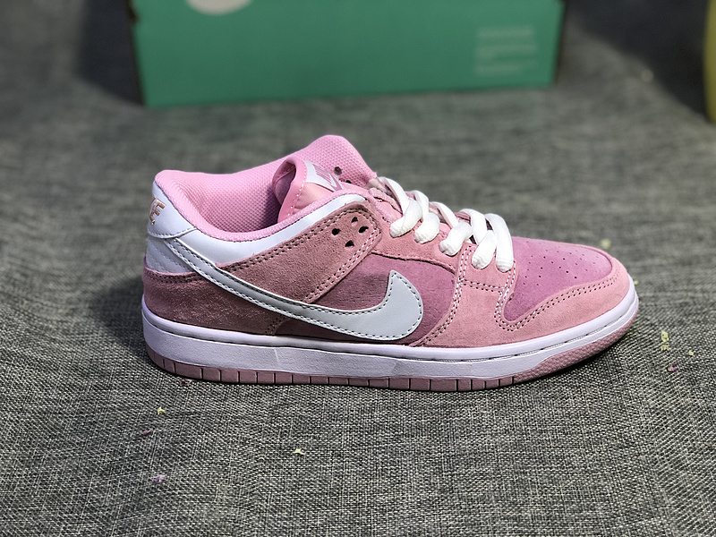 buy popular be01a 23a5f Nike SB Dunk Low Pro Pink White Women's Casual Shoes Sneakers NIKE-ST003450