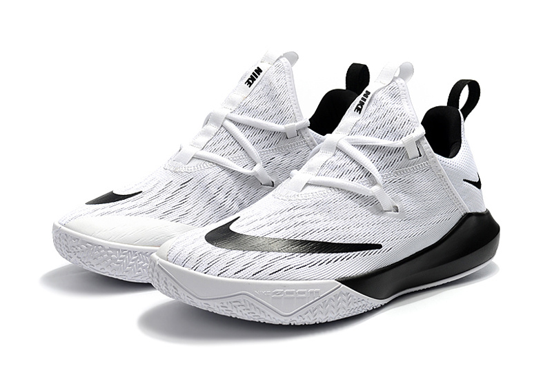 5724149ebb8 Nike Zoom Shift EP 2 White Black Men s Basketball Shoes NIKE ...