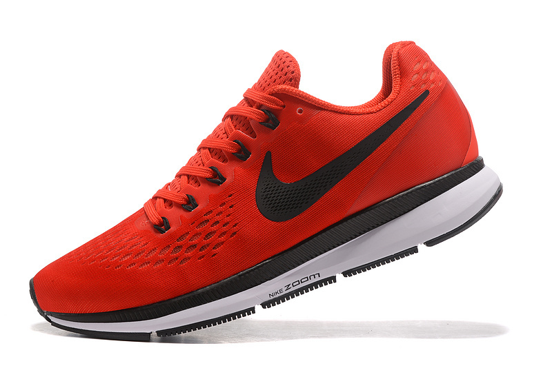 89e297cdcc9d Nike Air Zoom Pegasus 34 FlyEase Rush Maroon Bright Crimson Phantom Black  880555 603 Men s Casual