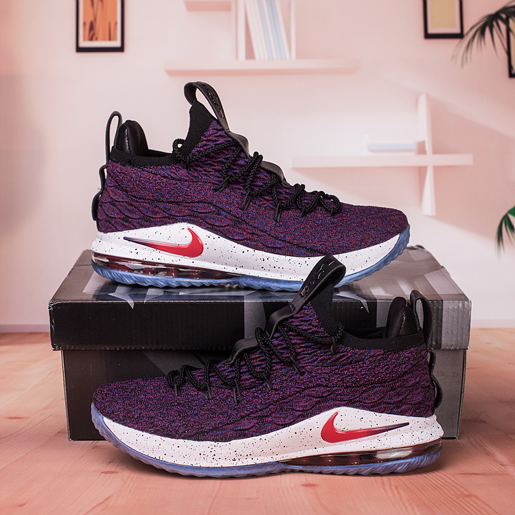 check out 0f597 4d48a Nike Lebron James 15 XV Low ...