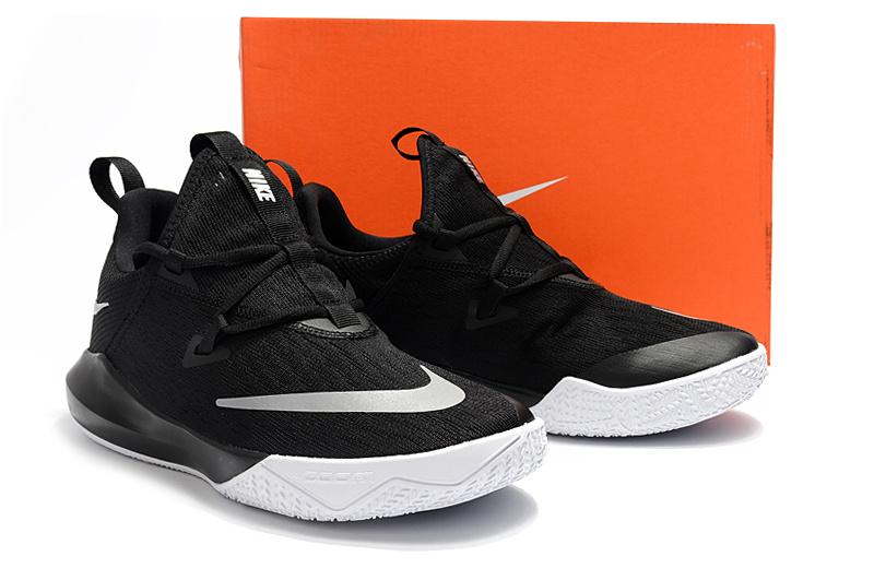 5d2540878568 Nike Zoom Shift EP 2 Black White Men s Basketball Shoes NIKE ...