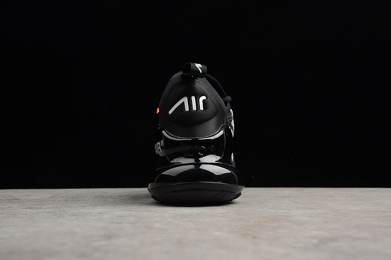 the best attitude 0c15d 60f72 Off-White X Nike Air Max 270 Flyknit Black White AA8058 001 Men's Women's  Casual Shoes AA8058-001