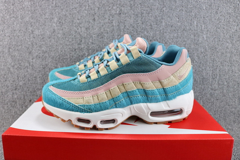 best loved 0cc4c b8152 Nike Air Max 95 LX Smokey Blue AA1103 002 Women's Casual Shoes AA1103-002