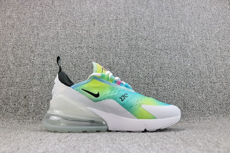 Nike Air Max 270 Flyknit White Rainbow AH6789 700 Women s Casual Shoes 9ced77d73