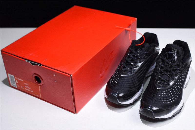 Nike Air Max 99 Deluxe TPU Reflective Black White AJ7831 001 Women s Men s  ... 81cda24cb