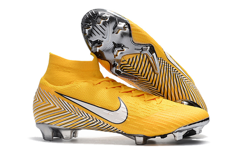 official photos 54171 f0b2c Nike Mercurial Superfly 360 Elite FG Neymar Yellow Amarillo White Black  Men's Soccer Cleat Shoes NIKE-ST003418