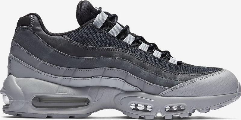 big sale 964f6 26b9f Nike Air Max 95 Essential Wolf Grey Cool Grey Dark Grey Pure Platinum  749766 029 Men's Casual Shoes 749766-029