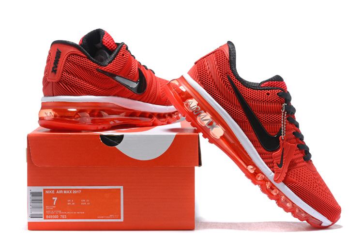 finest selection 8534e 50b2b Nike Air Max 2017 KPU October Red Black White ...