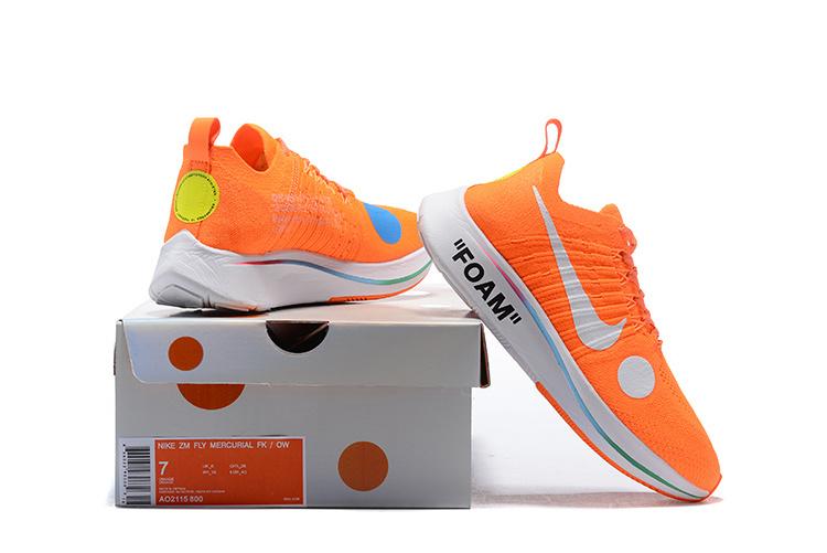 b05dfc06659d Off White Nike Zoom Fly Mercurial Flyknit Total Orange AO2115 800 ...