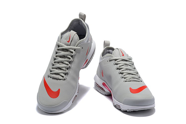 huge discount 17fc0 b1826 Mens Nike Air Max Plus Mercurial TN Wolf Gey Red AQ1088 001 Running Shoes
