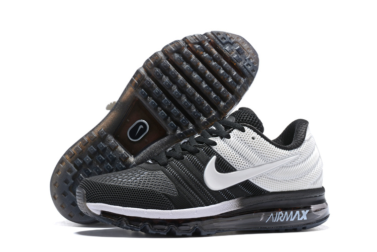 separation shoes 39ec7 ddb24 Nike Air Max 2017 KPU Black White 849560 704 Men's Running Shoes 849560--704