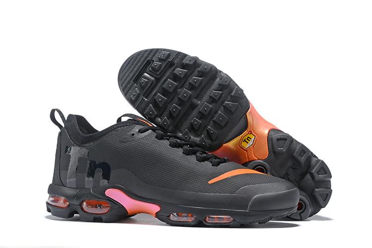 Zero Defect Nike Air Max Plus Mercurial TN Ultra SE Tuned Black Orange AQ0242 001 Womens Mens Running Shoes AQ0242 001