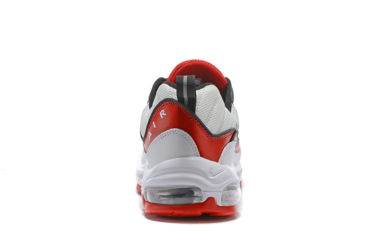 sale retailer e0229 c97dd Original Nike Air Max 98 OG Grey Fire Red Black Men's Running Shoes  NIKE-ST003267
