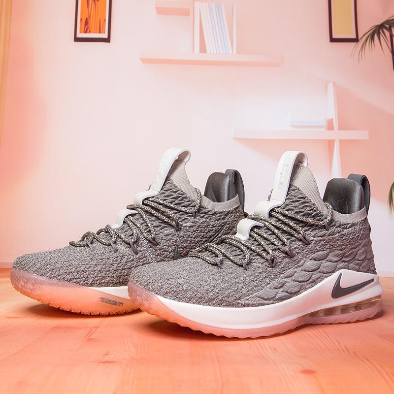 pretty nice 393e5 1c131 Nike Lebron XV 15 Low Light Bone Dark Stucco Sail Coral Stardust Men s  Basketball Shoes