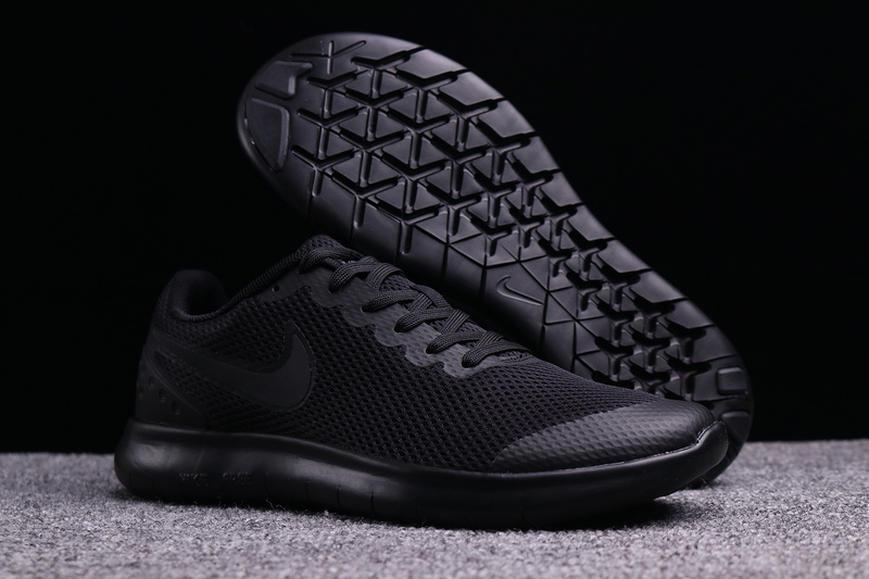 newest collection 42c43 43589 Nike Free Run 6. 0 Triple Black Men's Running Shoes NIKE-ST003038