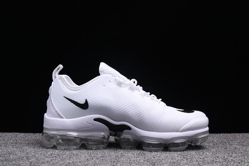 ebfa4248e0c Nike VaporMax Air Max Plus Tn White Black Men s Running Shoes NIKE ...