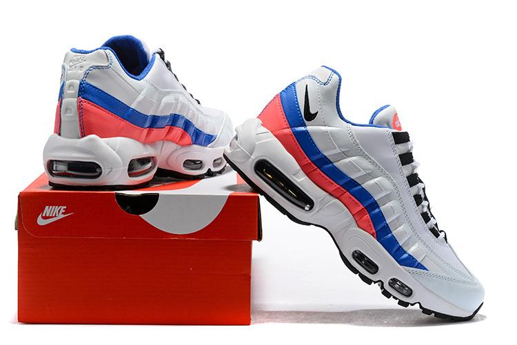 mens nike air max black blue red white shoes asd3242