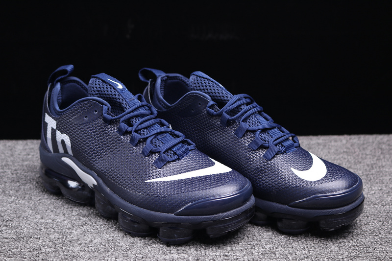 949e9769adb Nike VaporMax Air Max Plus Tn Navy Blue White Men s Running Shoes ...