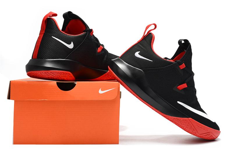 72db908c4de0cd Nike Zoom Shift EP 2 Black Red White Men s Basketball Shoes NIKE ...