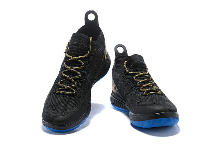 fd44672435f3 Nike Zoom KD 11 EP Black Gold Men s Basketball Shoes NIKE-ST002830 ...