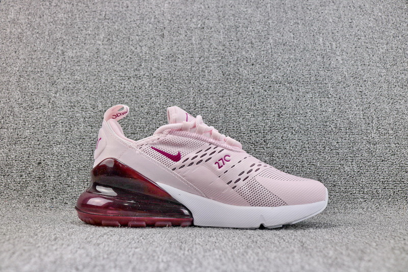 528ff5869c18c Nike Air Max 270 Flyknit Barely Rose Vintage Wine AH6789 601 Women s Casual  Shoes