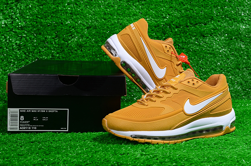 a2b78d2d61 Nike Air Max 97 Bw Skepta Kpu Light Tan White AO2113 110 Men's Casual Shoes  Sneakers AO2113-110A | WithTheSale.com