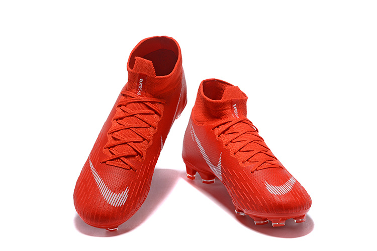best sneakers c0573 44bb1 Nike Mercurial Superfly 360 Elite FG October Red White Men's Soccer Cleat  Shoes NIKE-ST003419