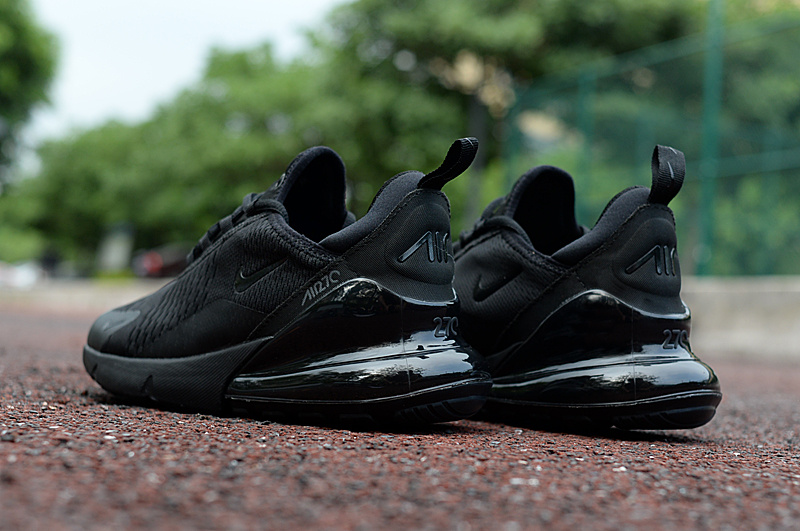 0ffc5ee39f Nike Air Max 270 Triple Black Men's Casual Shoes NIKE-ST002972 ...