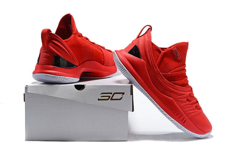 60ac72f84093 Under Armour UA Curry 5 Fired Up Red 3020657 600 Men s Basketball ...