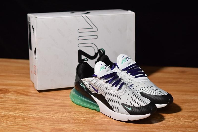 400fa03e66 Nike Air Max 270 White Court Suprle Mint Candy Black AH8050 103 ...
