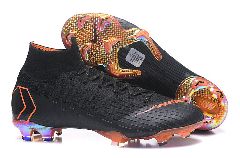 30dad0b086d Nike Mercurial Superfly 360 Elite FG Black White Total Orange AH7365 081  Men s Soccer Cleat Shoes